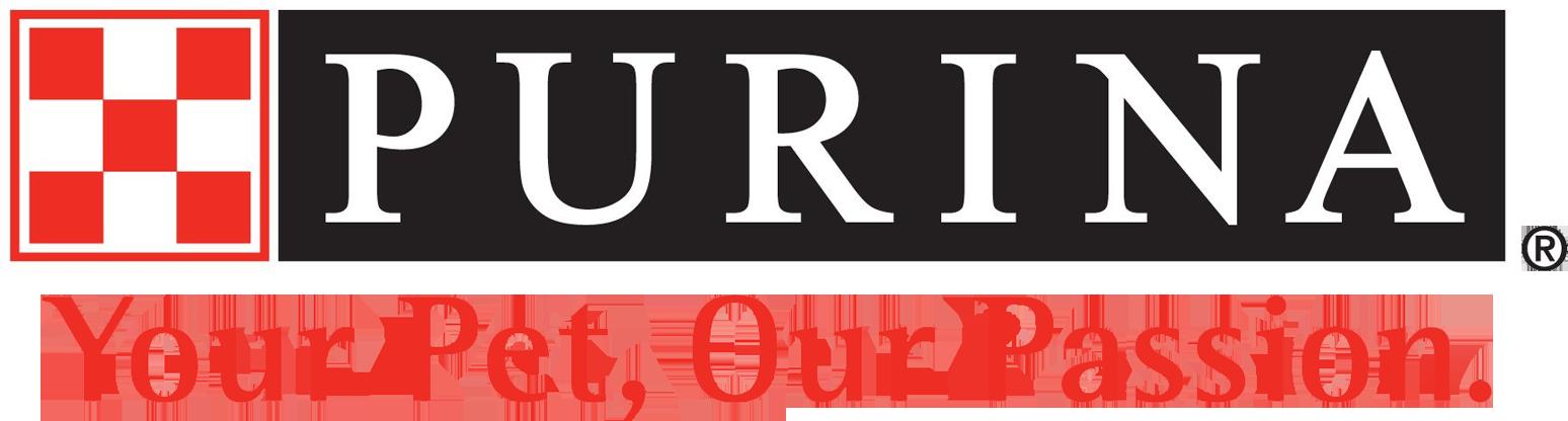 Purina Dog Food logo links to Purina's website.