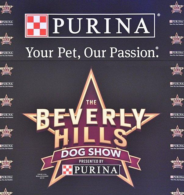 Beverly Hills Dog Show background.