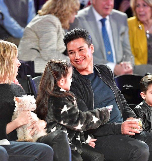 Mario Lopez and Family